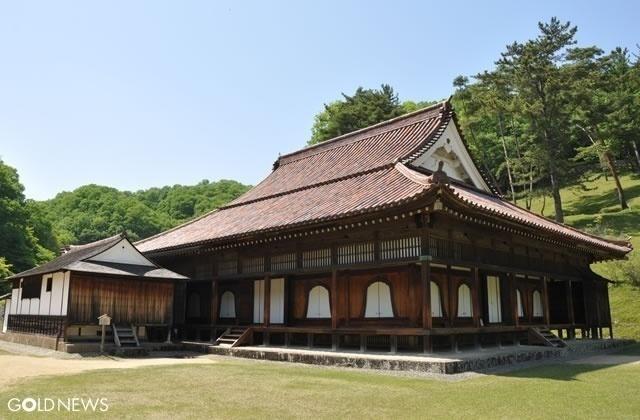 特別史跡 閑谷学校の講堂(国宝)