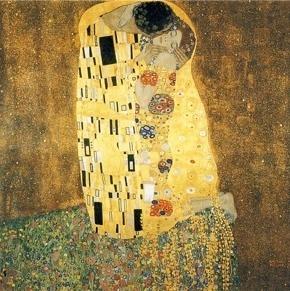 グスタフ・クリムト『接吻』